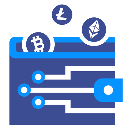 Cryptocurrency wallet take a lot of space