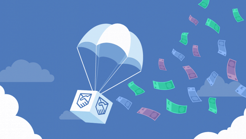 Airdrop free cryptocoin money